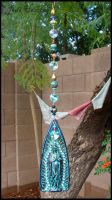 Mother Mary Sun Catcher by andromeda