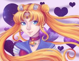 Sailor Moon Crystal by nuxi-chan