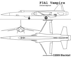 F3A1 Vampire by BlacktailFA
