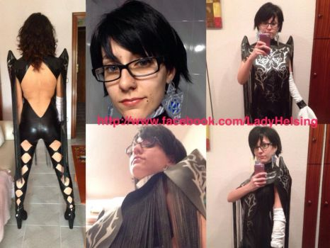 Bayonetta 2 cosplay - Preview 3.0 with fake hair! by JudyHelsing