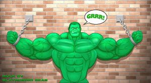 Hulk naked Hulk smash by Blathering