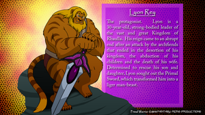 Lyon Rey (Character Bio) by BennytheBeast