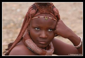 Himba woman 2 by Hiddenplanet