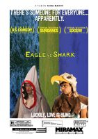 eagle vs shark poster by wepawetmose