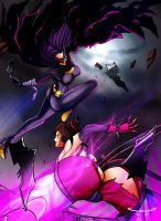Juri vs Blackbat by Seonidas