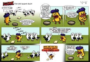 Duckie the Self Aware Duck 38 by CptMunta