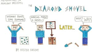 The Diamond Shovel Trilogy by Sonicamy8