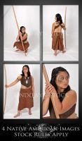 Native American Pack 2 by lindowyn-stock