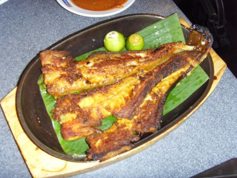 Grilled Stingray by Gexon
