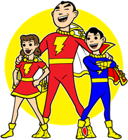 marvel family avatar by AlanSchell