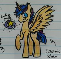 Cosmic Star by MusicArtGirl123