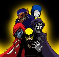 Spanish Iron Fist And Friends by Enshohma