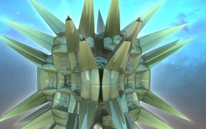 Alien artifacts - Pong 21 by Topas2012