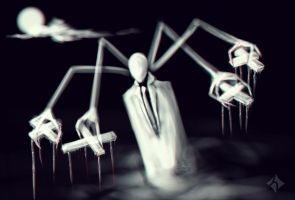 005 Slender Puppeteer by Helloeen