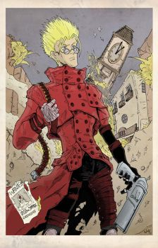 Vash! the Stampede by brianthomaswolf
