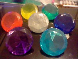 The Seven Chaos Emeralds by LevelInfinitum