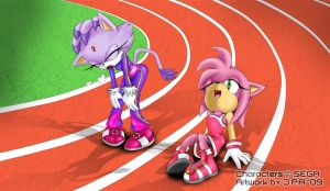 Amy and Blaze - It's too much by howlzapper