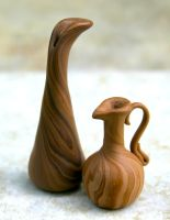 Faux Wood Vessels by FauxHead