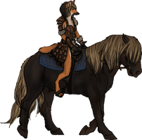 Lorelei with mount by toast4nat