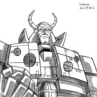Unicron by MDTartist83