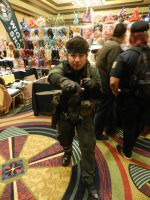 Anime Los Angeles 2015 Metal Gear Solid 3 CQC by Demon-Lord-Cosplay