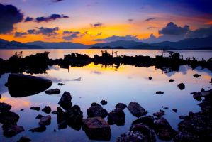 Reflection of Water Color by johnchan