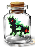 Bottled Up: Changeling by Songbreeze741