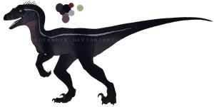 Raptor adoptable #3 -CLOSED- by GoldenNove