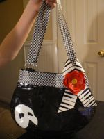 Phantom Duct Tape Bag by katiesparrow1