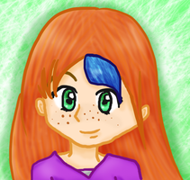 Freckle Face by AquaDewRose