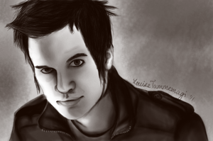 Brendon Urie portrait by Confectionery