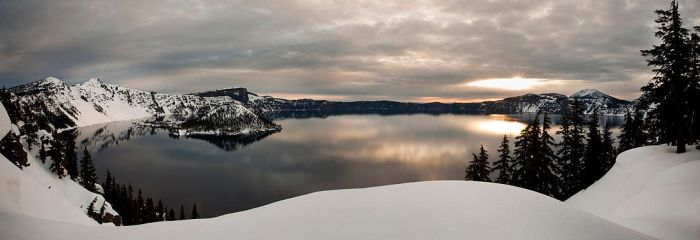 Crater Lake by sergey1984