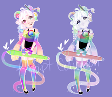 Magic girl  Auction : -OPEN- (PAYPAL AND POINTS) by Celiicmon