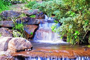 Water Fall by A-Sped-Kid