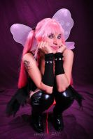 gothic fairy pink by RinaMx