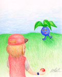 Wild Oddish Appeared! by DrQArt