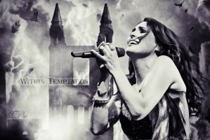 Within Temptation - Music of the heart by Ariella-melina