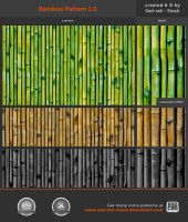 Bamboo Pattern 1.0 by Sed-rah-Stock