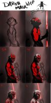Darth Maul W.I.P Stages by AndyFairhurst