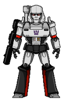 Megatron (G1) by alexmicroheroes