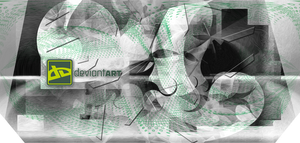 Deviant green cubism final frame by damylion