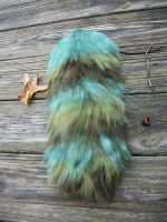 Spirit of the Forest Striped Fluff Tail by user-name-not-found