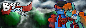 Brony Scot 2015 - Twitter Banner, JC by jamescorck