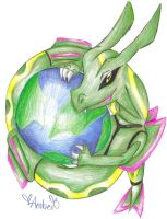 Rayquaza-Firefox 8D by Eevie-chu