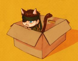 MGS - adopt a snakecat by FerioWind