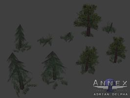 Forest Trees for Annex by DelphaDesign