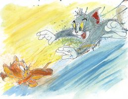 Tom and Jerry by LukeFielding