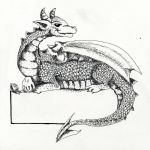 Dragon Book Plate by SpyroShurtagul