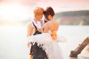 Final Fantasy Dissidia: Wedding by GarnetTilAlexandros