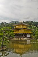 Golden pavilion by andthecowsgobaa
